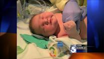 15-Pound Baby Born in Hesperia