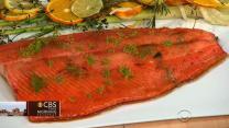 Chef Matt Lambert's Ora King Salmon on THE Dish