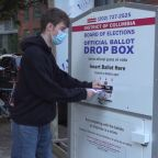 Weatherproof drop boxes protecting your ballot