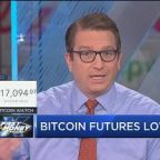 Bitcoin futures lower on SEC statement