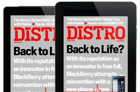 Distro Issue 76: Will a duo of phones and a new OS bring BlackBerry back to life?
