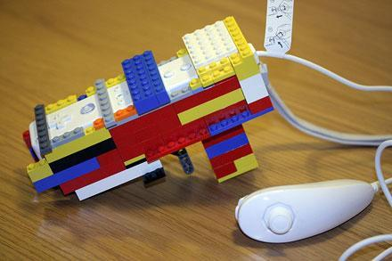 LEGO Wii Zapper puts old blocks to good use
