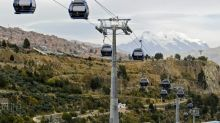 La Paz's colorful cable car system: no traffic and a great view