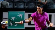 Del Potro sails through on French Open return after injury scare