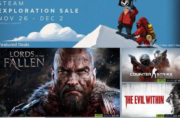 Steam Exploration Sale: Watch Dogs, Lords of the Fallen, more