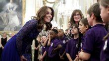 Duchess of Cambridge praises pioneering children's mental health charity at gala dinner