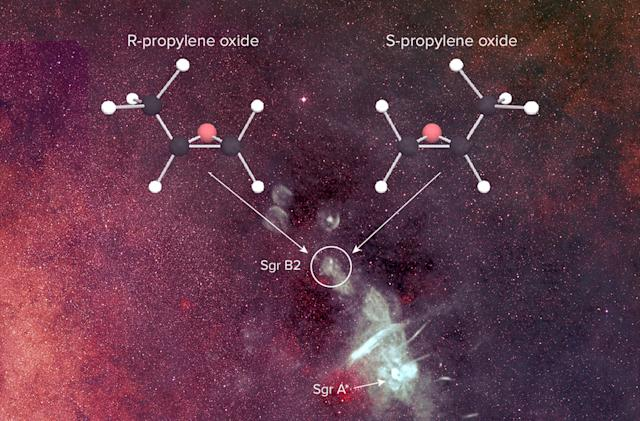 Molecules in space may show how life formed on Earth
