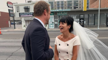 Inside Lily Allen and David Harbour's quickie Vegas wedding