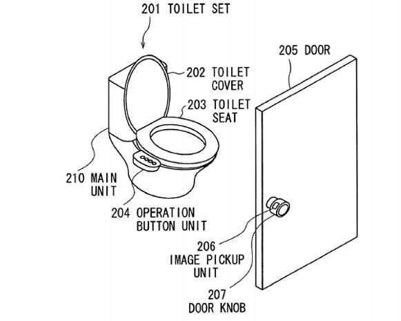 Sony patents vein reading system for accessible computers, toilets
