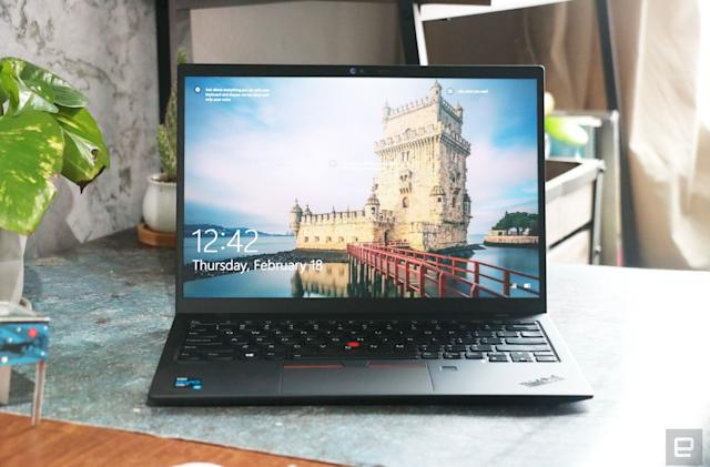 ICYMI: We check out Lenovo's lightest ThinkPad yet