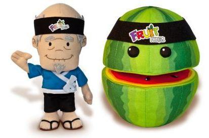 Fruit Ninja plushies coming soon to a wrapped gift near you