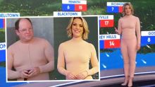 Today Extra host Belinda Russell's 'nude' outfit turns heads