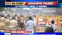 Political blamegame erupts over Saharanpur clashes