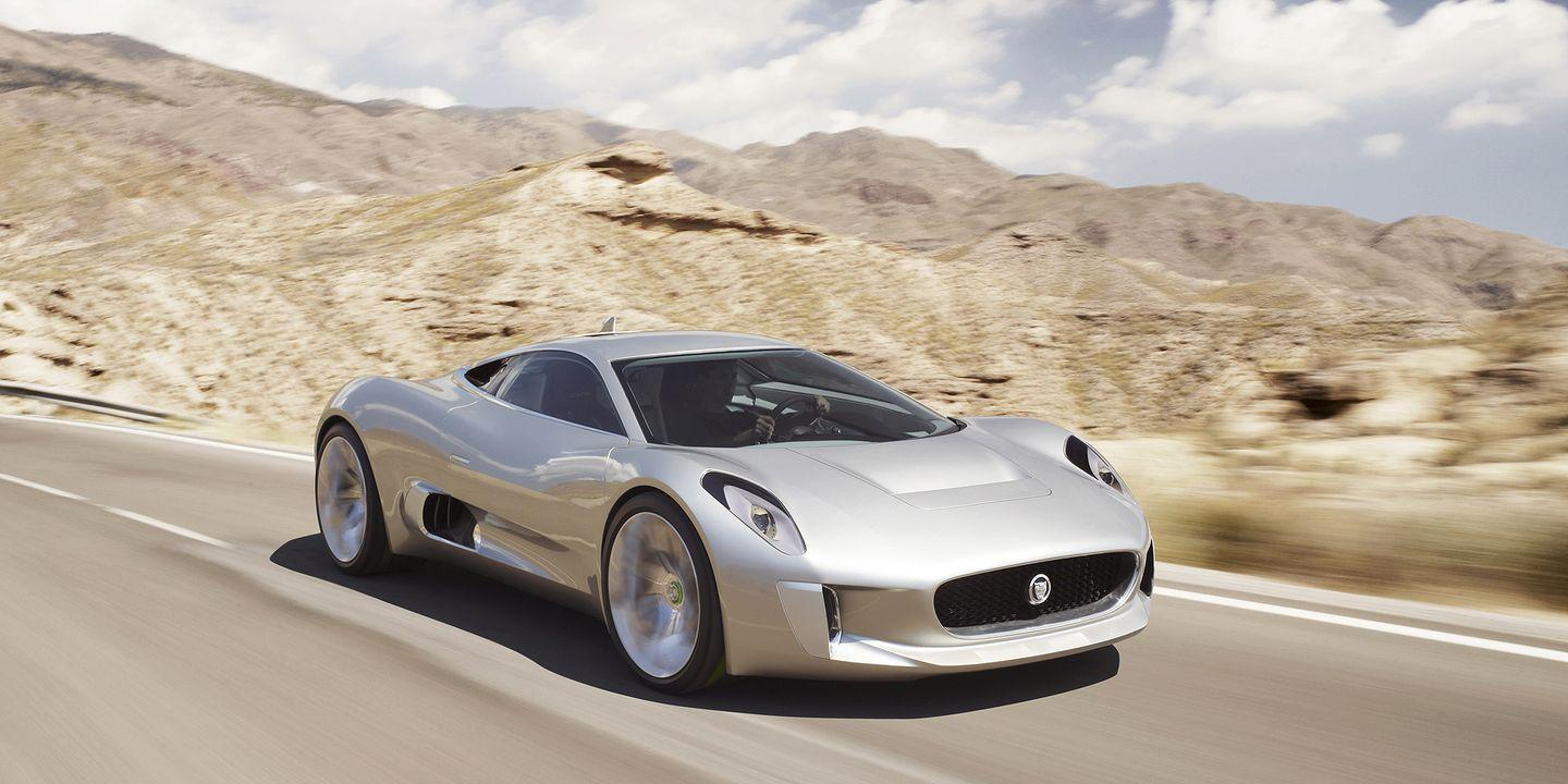 "<p>We were pretty heartbroken to hear the news Jaguar <a href=""https://www.roadandtrack.com/new-cars/future-cars/news/a30120/jaguar-c-x75-dead-electric-cars/"" rel=""nofollow noopener"" target=""_blank"" data-ylk=""slk:wouldn't produce"" class=""link rapid-noclick-resp"">wouldn't produce</a> the C-X75. It's an achingly beautiful design, and it starred in <a href=""https://www.roadandtrack.com/car-culture/entertainment/news/g6145/set-photos-james-bond-007-spectre-movie-cars/"" rel=""nofollow noopener"" target=""_blank"" data-ylk=""slk:James Bond's Spectre"" class=""link rapid-noclick-resp"">James Bond's <em>Spectre</em></a>.</p>"
