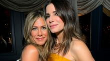 Jennifer Aniston shares picture from Sandra Bullock's socially-distanced birthday party