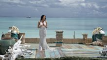 The Bachelorette Becca Kufrin's Finale Dress Is Positively Bridal