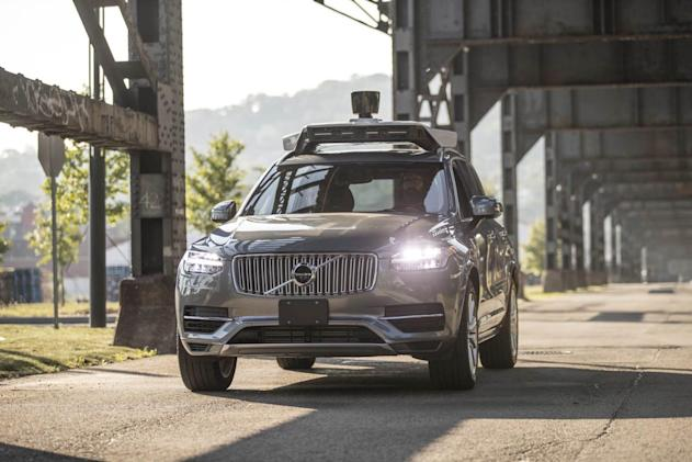 Uber applies for permission to test self-driving cars again