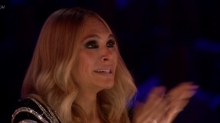 X Factor's Ayda Field in tears after Danny's performance