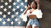 Azealia Banks Debuts Boob Job on Twitter: Watch the Video
