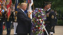 Trump honors fallen service members and Gold Star families in Memorial Day speech