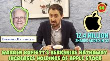 Business + Coffee: Buffett buys more Apple, Walmart 'inclusive' clothing with Ellen, Tinder lawsuit