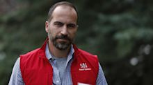 Uber HR head tells employees Dara Khosrowshahi is company's pick for next CEO