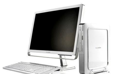 TriGem's Little Lloun+ media PC: littler, and Core 2 Duo