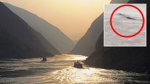 Disappointment as 'Loch Ness Monster' turns out to be 20m-long airbag