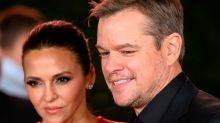 Awwww! Matt Damon's nine-year-old fell asleep (twice) watching 'Ford v Ferrari' drama