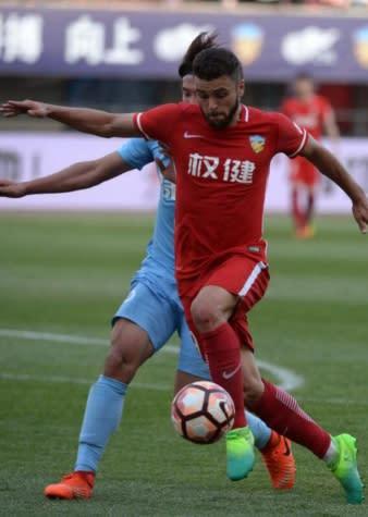 Com boa atuação pelo Tianjin, Junior Moraes acredita em crescimento do time