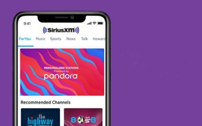 SiriusXM app