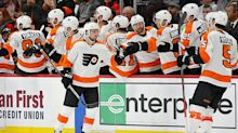 Scott Laughton scores twice to lead Flyers past Capitals 3-1