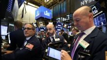 Stocks seesaw, dollar off; global, U.S. worries weigh