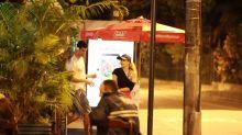 Joelma é flagrada em jantar romântico ao lado do ex-namorado