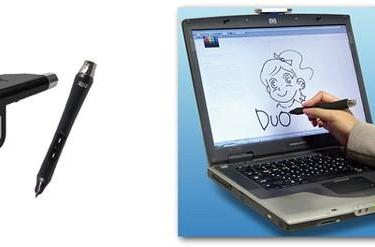 Hanwha's Duo for Laptop lets you doodle on your standard 15.4-inch laptop