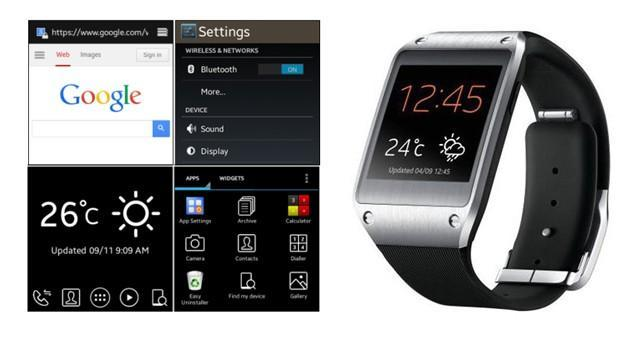 Galaxy Gear smartwatch hack lets you browse the web from your wrist