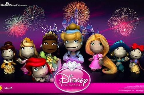 LittleBigPlanet 2 gets a visit from Disney's princesses