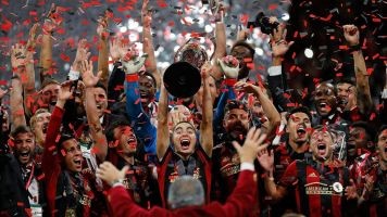 Atlanta throws off 2 decades of pain with title