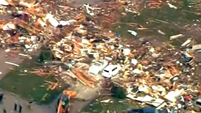 Oklahoma church opens its doors to tornado victims