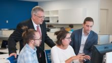 PHOTO ADVISORY: Synchrony, UConn Prepare Students for Cybersecurity Careers