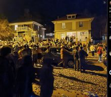 SWAT officers hit with bricks while breaking up 800-person party, Colorado cops say