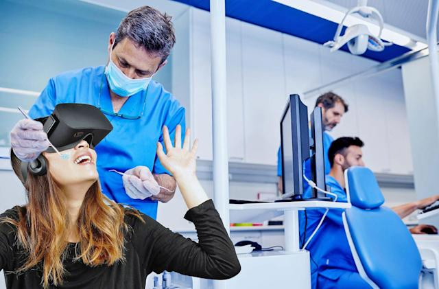 Researchers are using VR to make dentist visits less painful