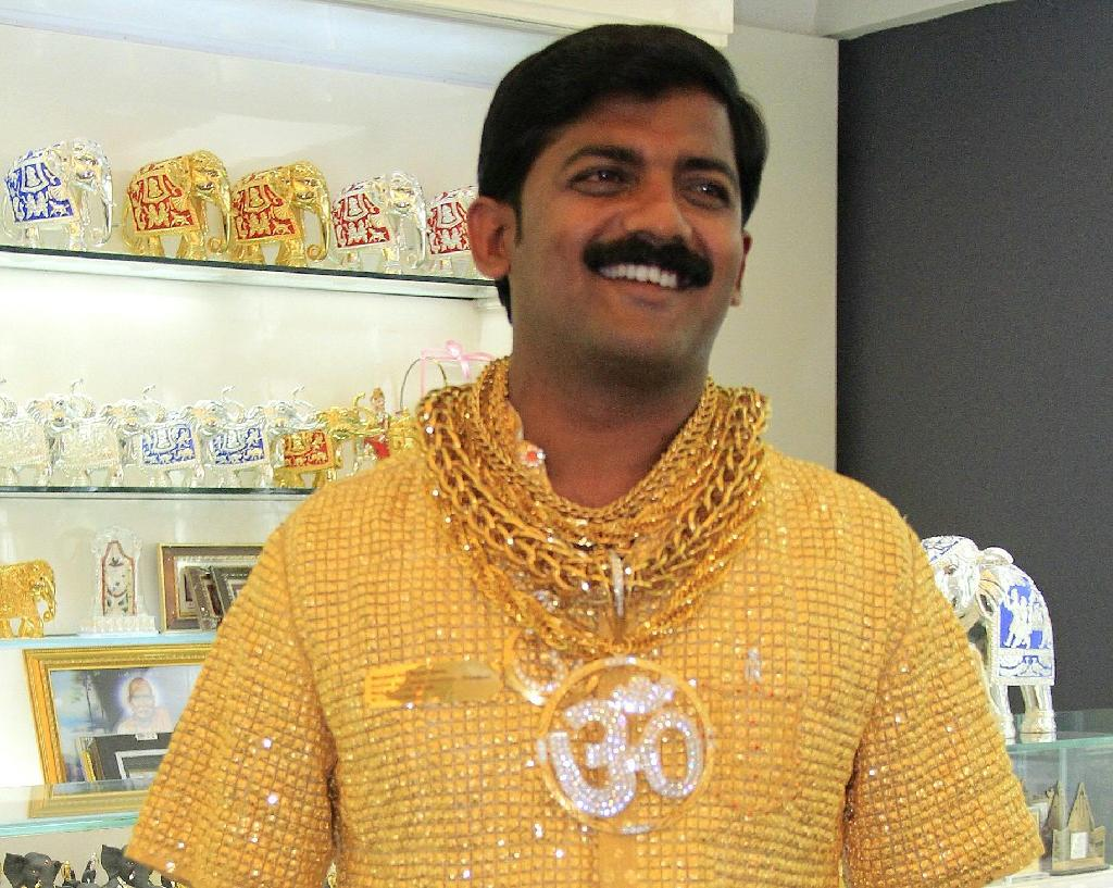 Slain Indian businessman Datta Phuge gained fame when he ordered a customised gold shirt worth 12.7 million rupees, around $240,000 dollars at the time