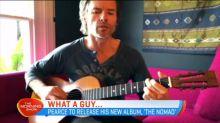 Guy Pearce discusses his new album