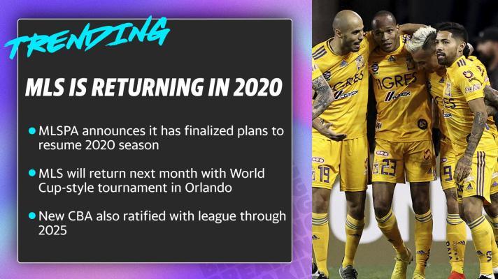 MLS is returning in 2020