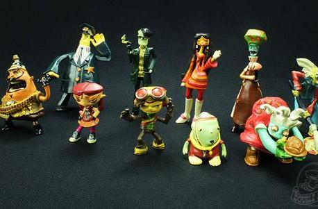 Psychonauts figurines now up for grabs at Double Fine's store