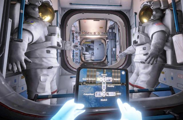 Visit the ISS in virtual reality with an Oculus Rift