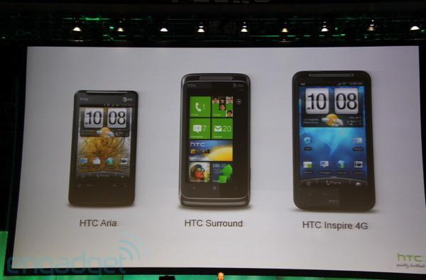 HTC Inspire 4G goes official on AT&T