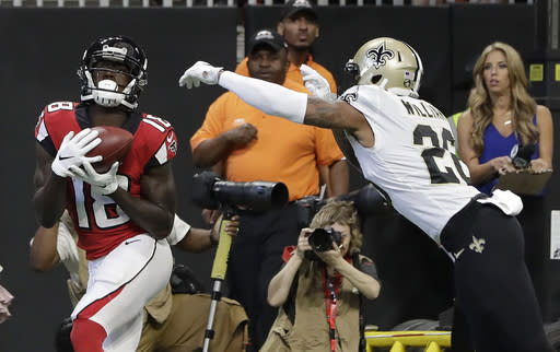 Early Week 4 Fantasy Pickups: Calvin Ridley is the real deal