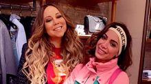 """Mariah Carey compartilha clique e celebra aniversário de Anitta: """"Parabéns"""""""